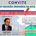 61º REUNIÃO ORDINÁRIA DA ACIA  FIEG
