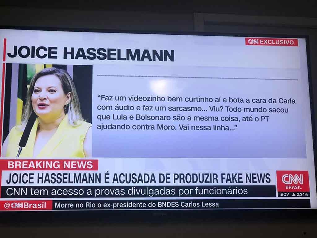 Joice é acusada de produzir fake news; deputada fala em diálogos ...